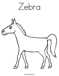 Mfw kindergarten on pinterest printables worksheets and for Coloring pages of zebra stripes