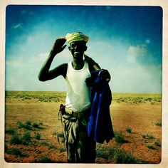 Somali nomad near Zeila thru Iphone Hipstamatic - Somaliland by Eric Lafforgue, via Flickr