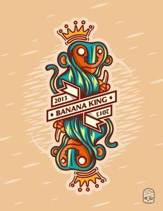 Banana King 2013 by Manuel Sombi Guevara