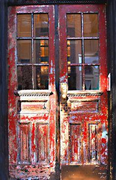bakery doors..