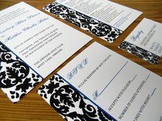 Damask Wedding Invitations!