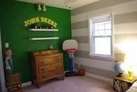 John Deere bedroom