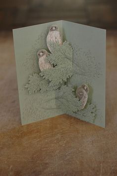 Tobidustry Pop-Up Bird Card