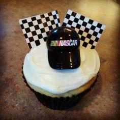 Jeff Gordon NASCAR cupcakes | Cupcakes/cookies I have made | Pinterest