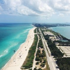 Cruising along the #Miami coastline. Photo courtesy of shootershane on Instagram.