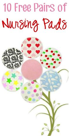 10 FREE Pairs of Trendy Reusable Nursing Pads! {just pay s/h}
