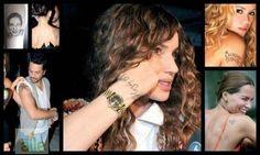Ünlülerin dövmeleri ne anlam ifade ediyor? http://www.hurriyetaile.com/eglence/tv-magazin/unlulerin-dovmeleri_30190.html