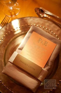 dinner, idea, wedding decorations, names, menu cards, gold place setting wedding, place cards napkin, charger plates, napkin folding
