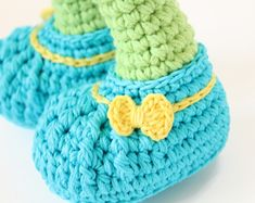Free Pattern - Crocheted Doll Shoes