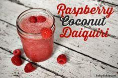 Raspberry Coconut Daiquiri - YUM! Made with Trop50 Raspberry Acai for a #GirlsNightIn!