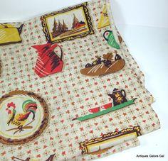 Vintage Farmhouse Dish Towel Kitchen Decor by AntiquesGaloreGal, $5.00