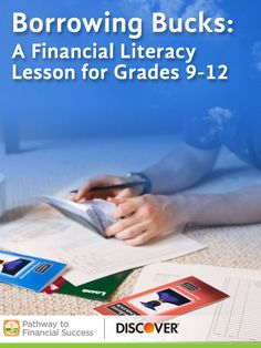 Borrowing Bucks: A lesson about loans for high school students #pathwaytofinancialsuccess #discover #weareteachers