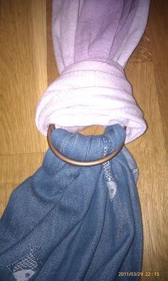 buy ring, no sew sling wrap, diy babywearing, no sew ring sling, babi girl, babi stuff, ring sling diy, altern thread, diy ring sling no sew