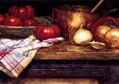 Sopa de tomate Lámina por Deborah Chabrian en AllPosters.com.ar.
