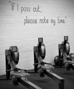 The things that are written on the walls of CrossFit facilities. HAHAHA This is soo true please don't help me up, just look at my time.