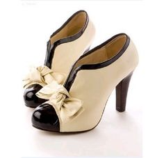 bow knot ankle booties  lolita