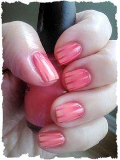 Reciprocal Gradient Nail Art inspired by Simple Little Pleasures:) ador nail, nail varnish, nail arts, gradient nails, nail idea