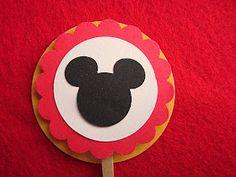Embellishing Life: Mickey Cupcake Toppers