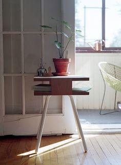 simple side table.