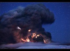 Forces of Nature - Eyjafjallajökull Eruption by orvaratli, via Flickr