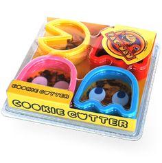 Pac Man cookies. Yes.