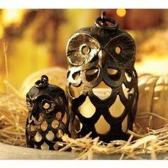 Owl lanterns!