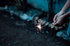 cooler, hand, sparkler, firework, famili, dream, polyvore, light, inspiring pictures