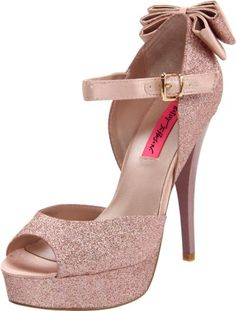 Betsey Johnson Women's Alexsaa Platform Pump