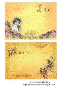 Free for personal use. More calendar pages on my blog