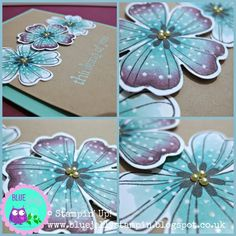 Stampin' Up! Blendabilities.  Love the different colors and use of chalk marker for dots