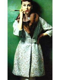 cigarettes and fur...old school