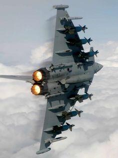fighter jet turn afterburner