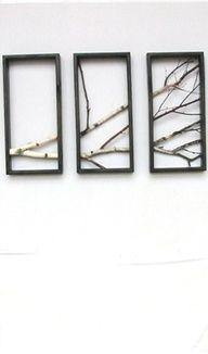 Nature's Window, Tree Branch Decoration Inspiration.