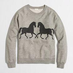 Love this J Crew Sweatshirt