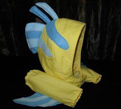 Flounder costume for baby halloweencostum idea, halloween idea, baby costumes, mermaid jr, mermaid idea, halloween costum, flounder costume, mermaid costum, hat
