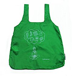 Daydream Tote Bag with Pouch (Green) from Lion Brand Yarn