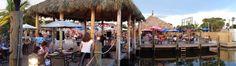 Flounders restaurant and tiki bar. Englewood, florida