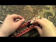 Kristen Mangus of GoodKnitKisses demonstrates how to do a Crochet Cast-on -- #loom #knitting