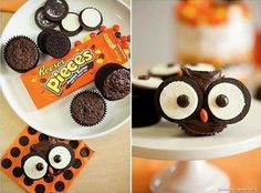 Super Simple Snacks - Cute and easy Owl Cupcakes for your guests! Get more recipes sent directly to your inbox and keep up to date on all things Origami Owl by subscribing to my newsletter!