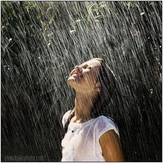 close your eyes and feel the rain