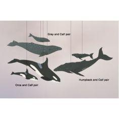 Montessori Mobile Whales