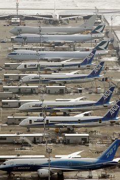 Boeing Everett Factory,Everett, Washington: