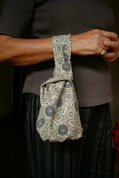 Japanese Knot bag pattern and tutorial