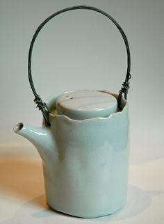 Porcelain teapot  Edmund De Waal