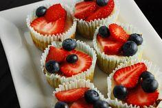 Mini Cheesecakes Recipe - 2 Points + - LaaLoosh