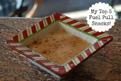 My Top 5 Fuel Pull Snacks!  Trim Healthy Mama!
