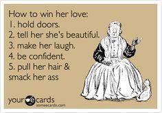 A true gentleman...haha
