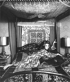 Talitha Getty: Photo by Elisabetta Catalano 1968