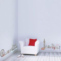 london theme, wall decals, london decor, decal london, decorative walls