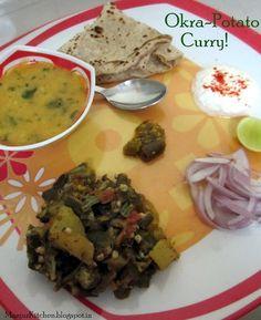 Okra- Potato curry